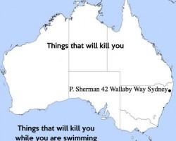 The Australian Territory As Seen By An American