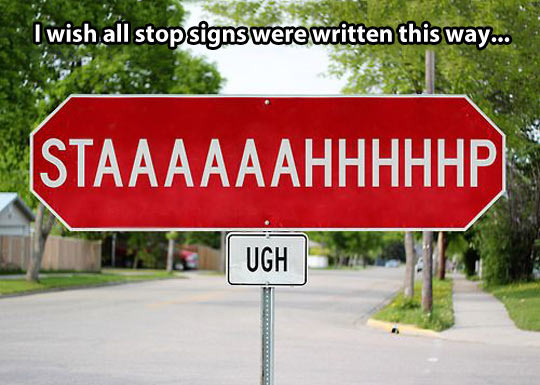 All Stop Signs Should Be Like This