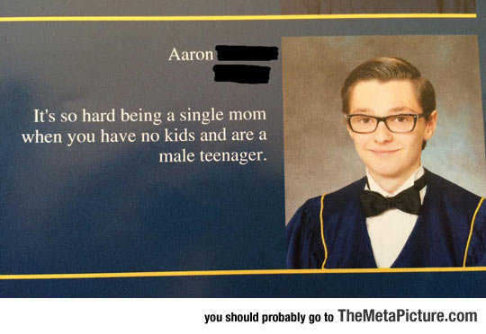 High School Grad Quote On Point