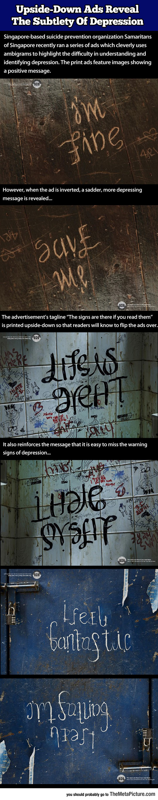 Upside-Down Message