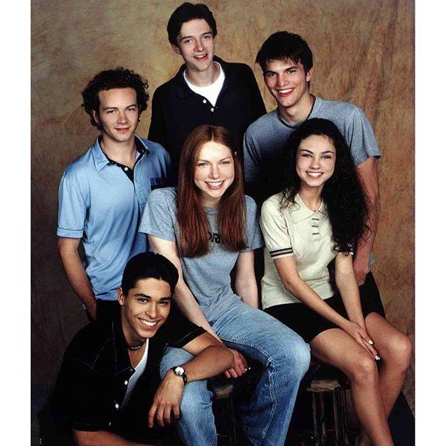 18 years ago today That 70's Show cast met for the first time