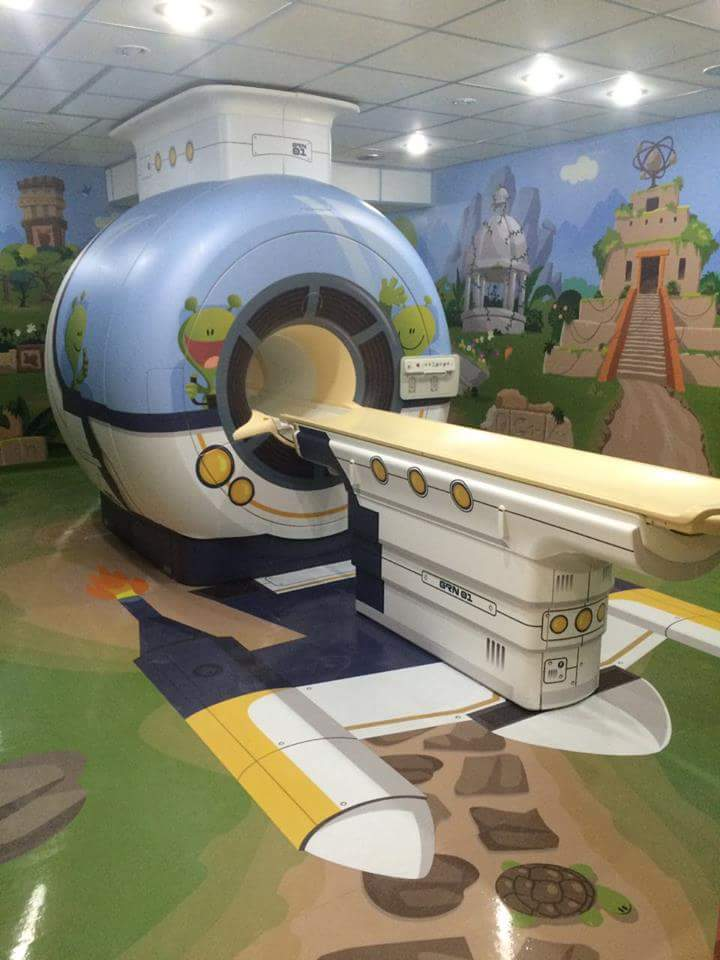 A children's hospital in Argentina
