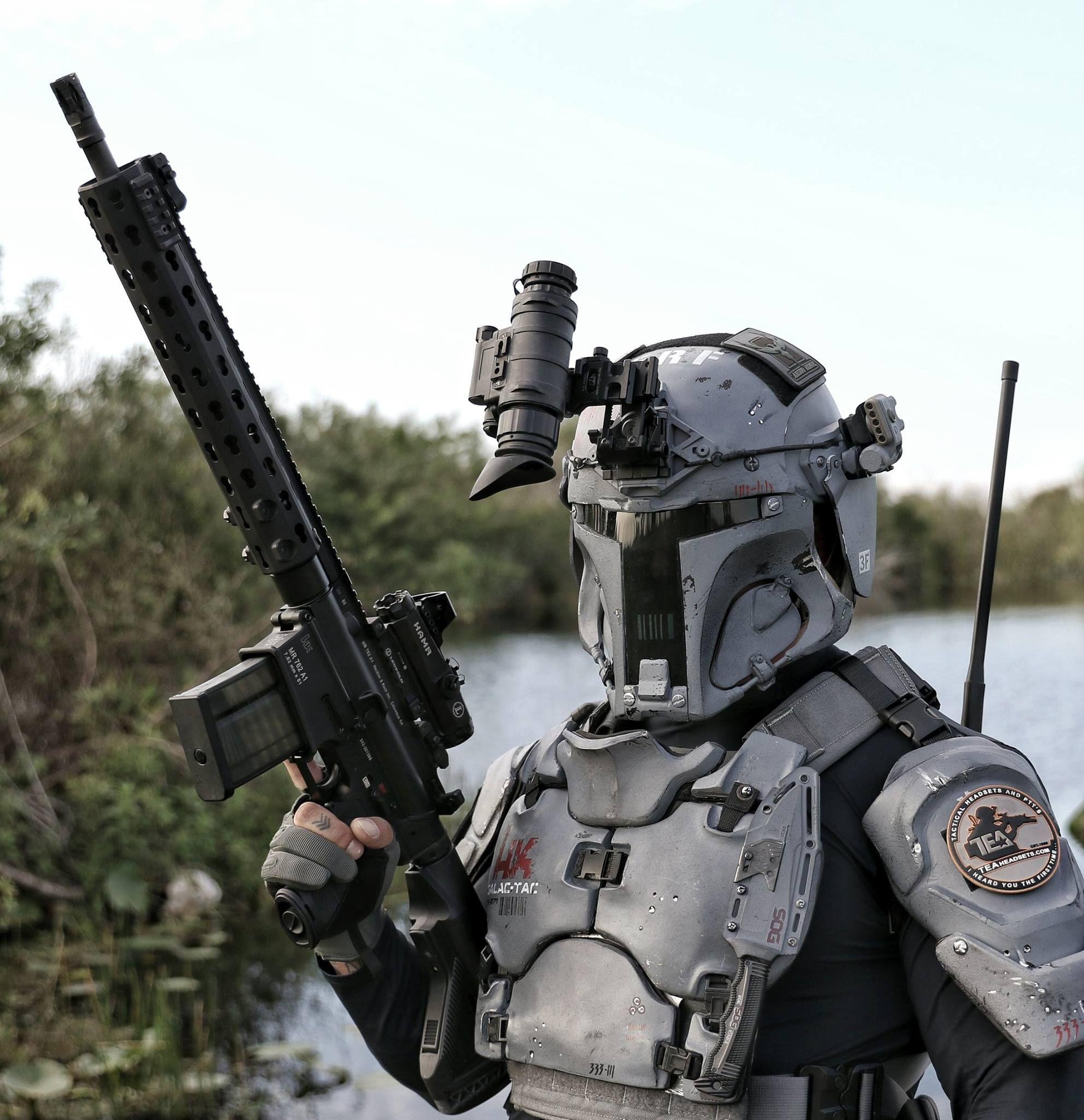 Ballistic armor based on Boba Fett
