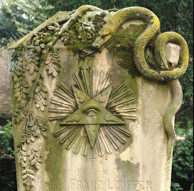 Headstone from 1900