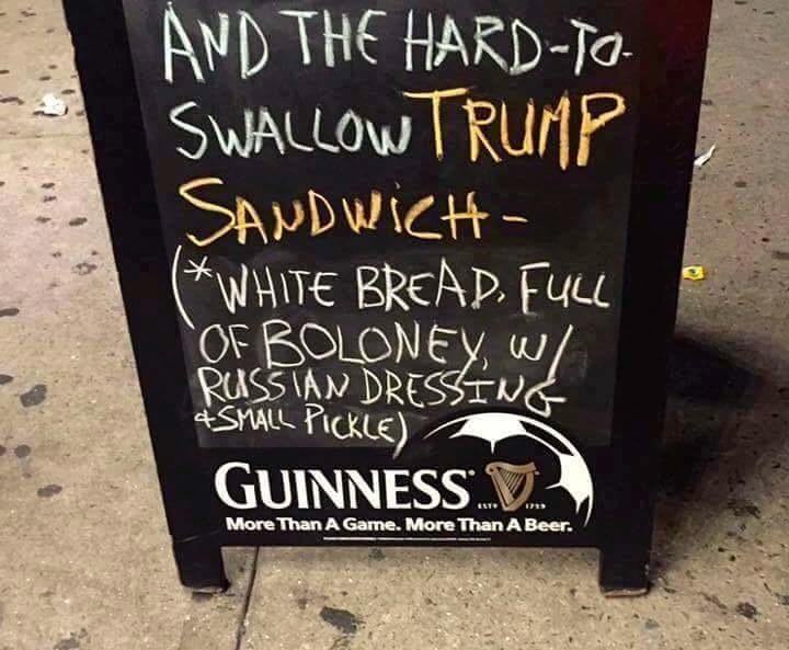 The Trump Sandwich