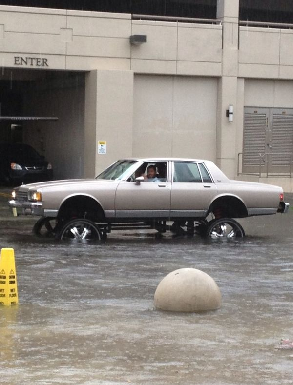 When the flood waters rise, the lifted brotherhood rides