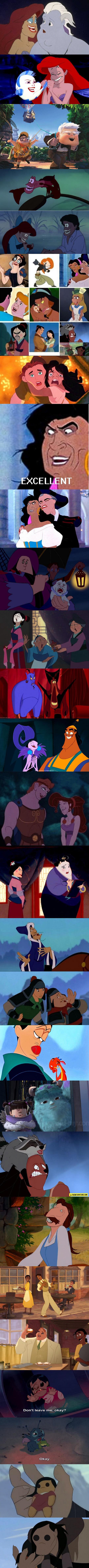 Hilarious Disney Characters Face-Swaps