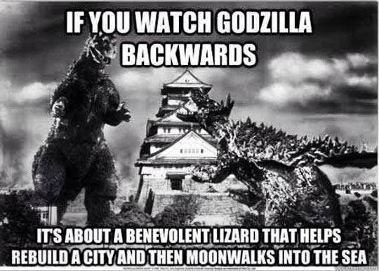Godzilla Doing The Right Thing