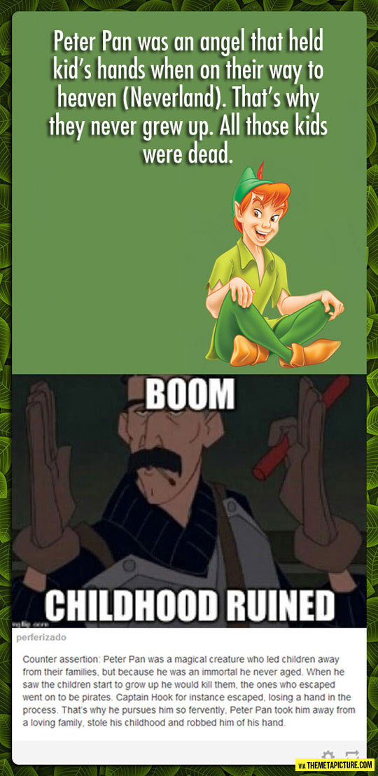 And My Childhood Keeps On Getting Ruined