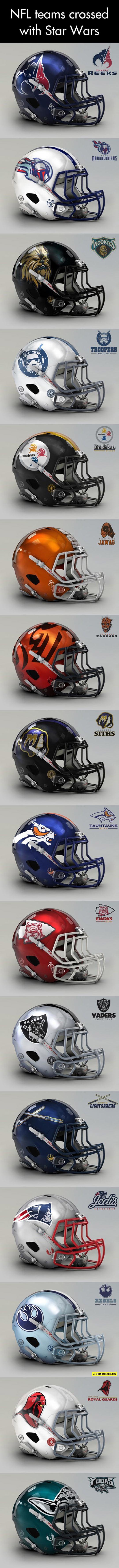 NFL Teams Meet Star Wars