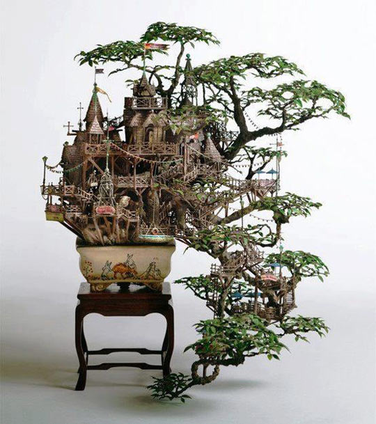 cool-bonsai-tree-castle-art