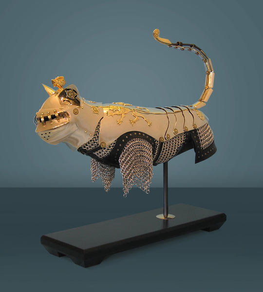 Cat Armor Epicness