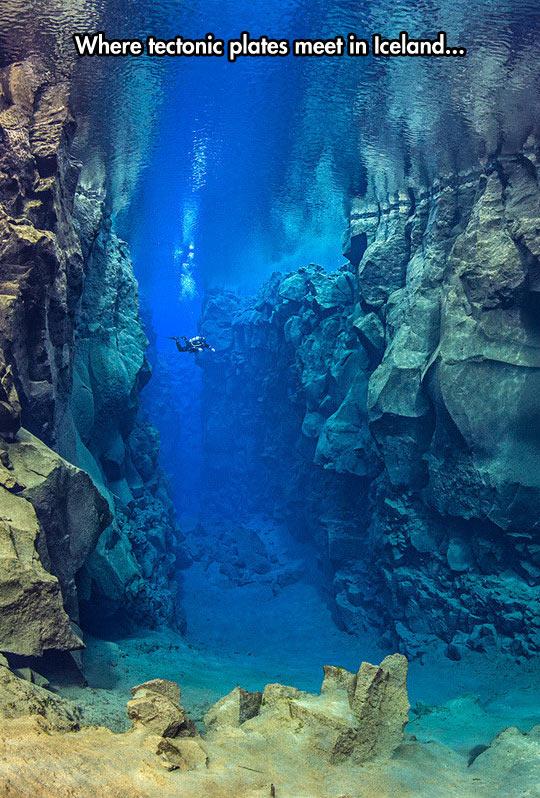 Gigantic Tectonic Plates Under The Sea