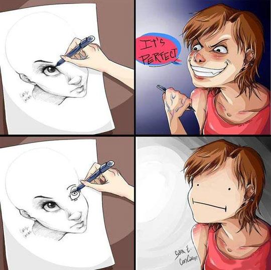 Eyes Are Always The Hardest Part