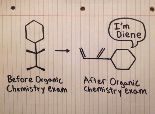 cool-drawing-paper-organic-chemistry-exam