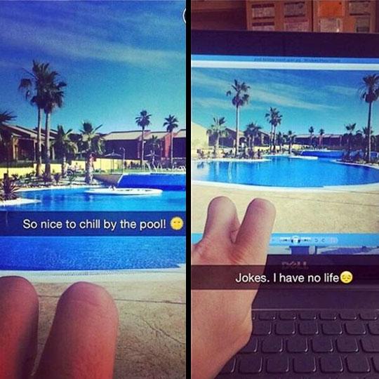 cool-faking-pool-sun-computer-screen