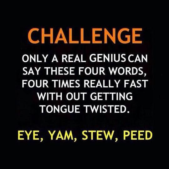 The True Challenge