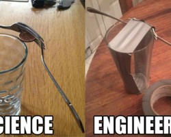Science Vs. Engineering In A Nutshell