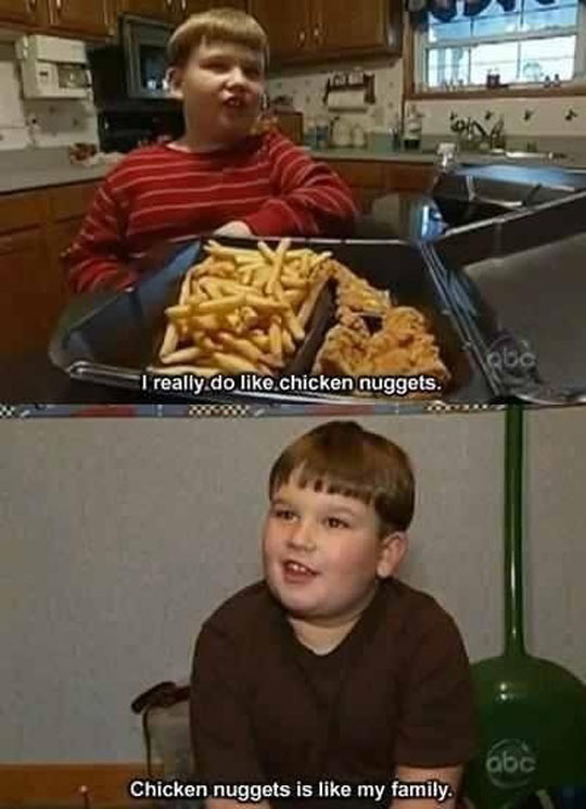 This Boy Has All His Priorities Straight