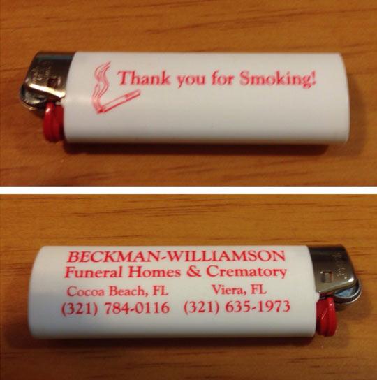 Thanks For Smoking