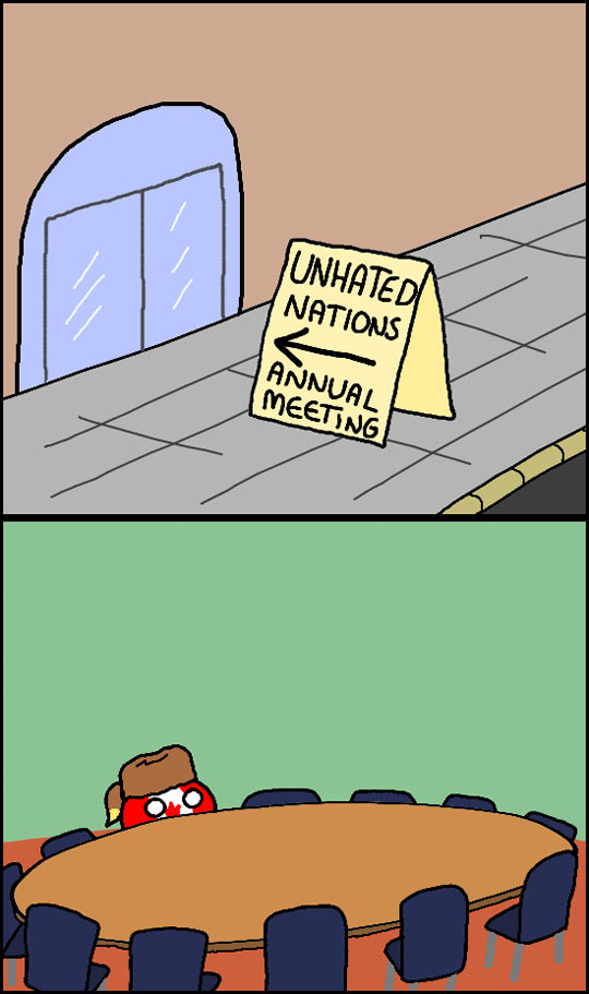Nations That Are Not Hated