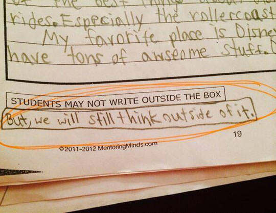 9-Year-Old Student Has Some Standardized Test Sass