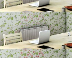 Clever Wallpaper That Reacts To Temperature