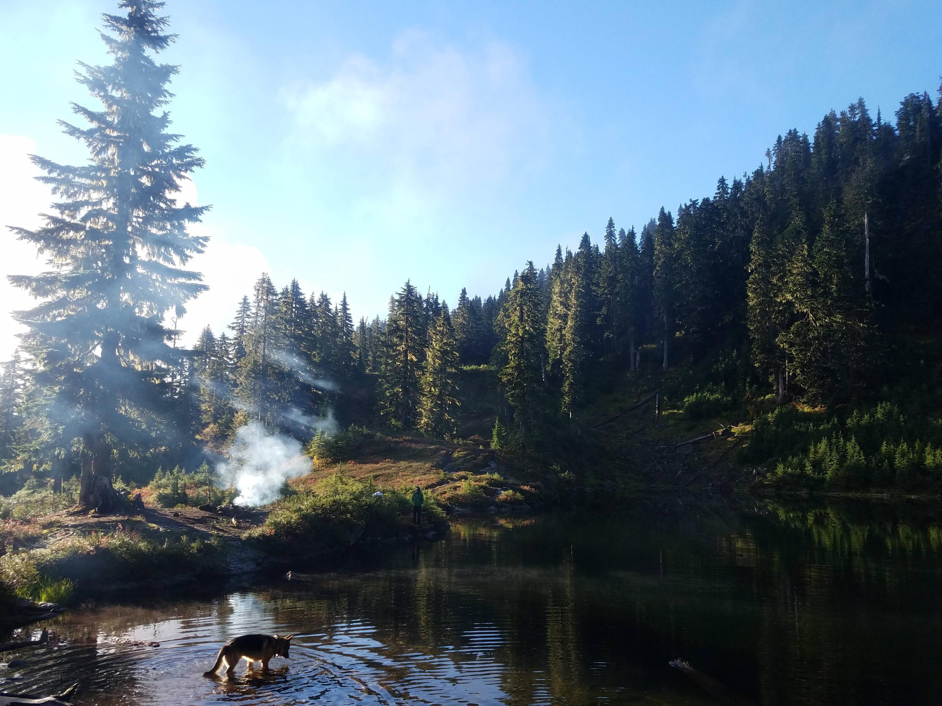 A secret spot in Washington State.