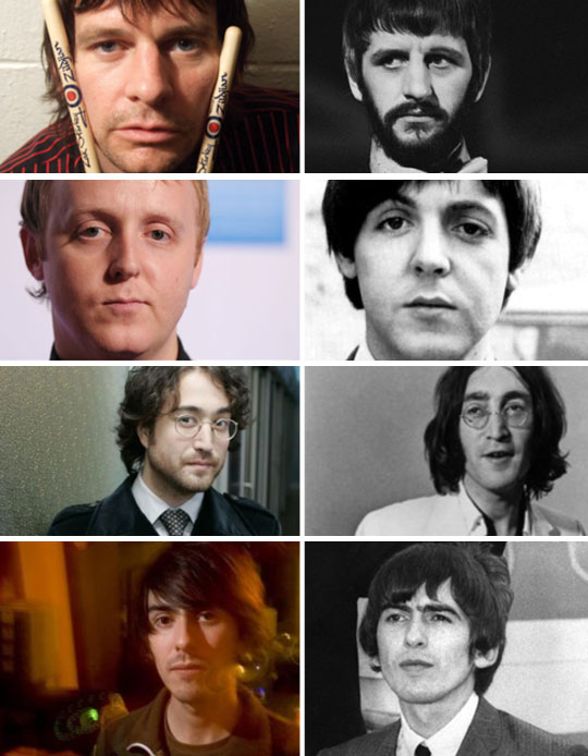 The Sons Of The Beatles Look A Lot Like Their Dads