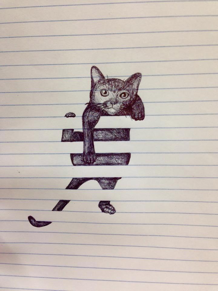 Cat Scribbles