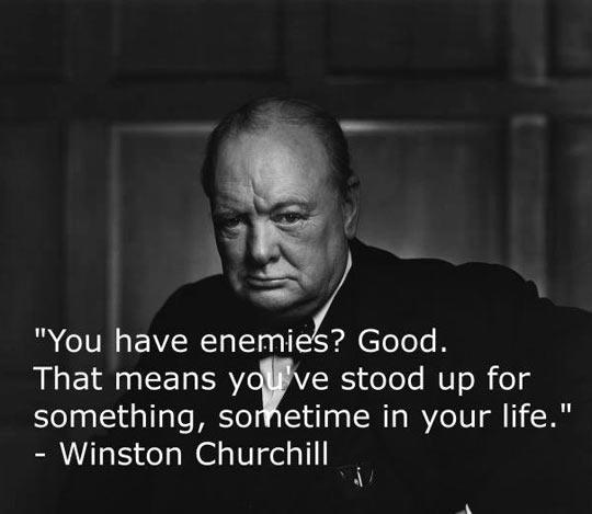 Having Enemies