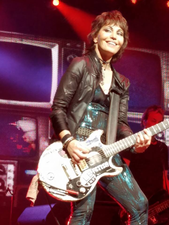 Joan Jett rocking Tampa on her 58th birthday