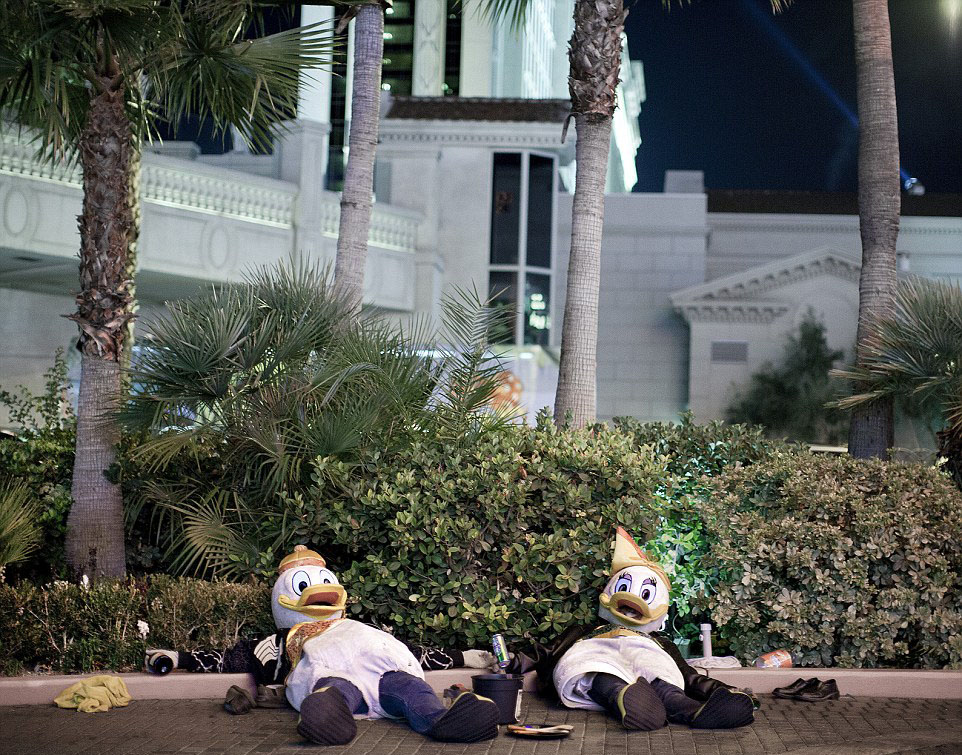 Just two drunken ducks in Las Vegas