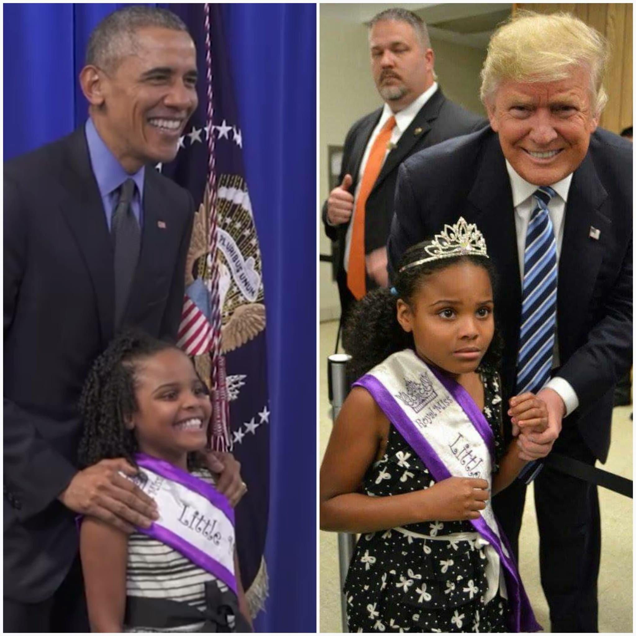 Little Miss Flint on Obama x Trump