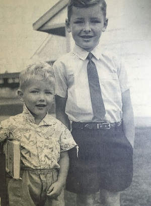 Norm Macdonald on his first day of school in 1964
