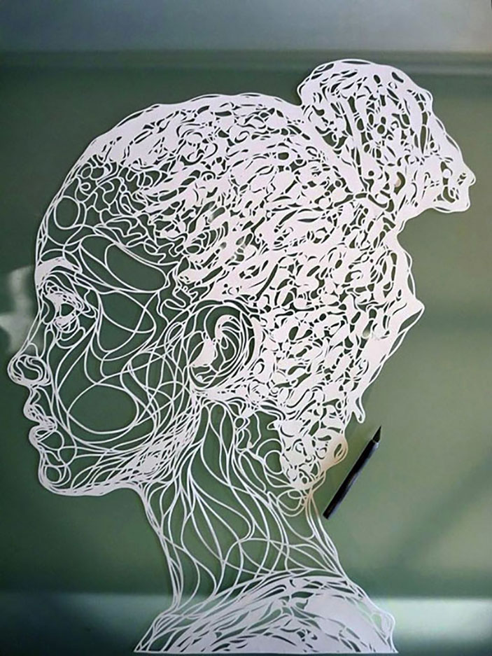 Paper Stencil Art