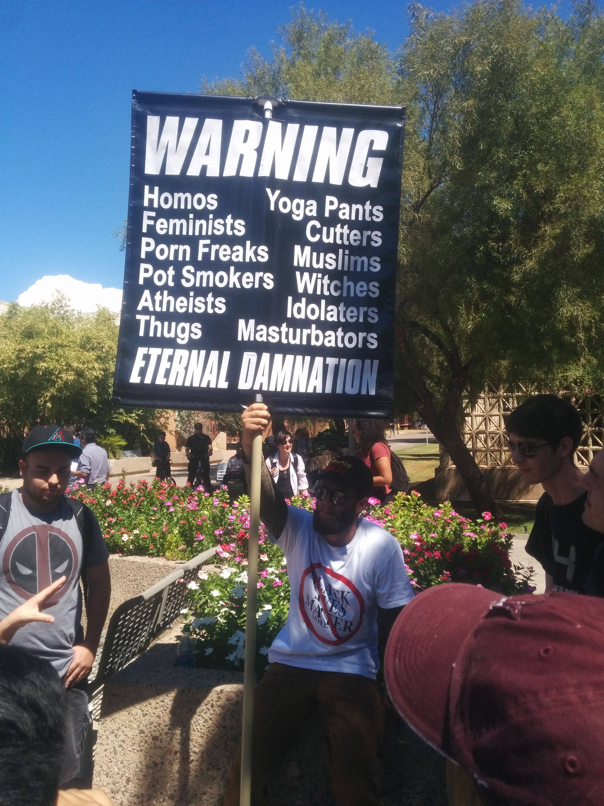 You'll go to hell for yoga pants