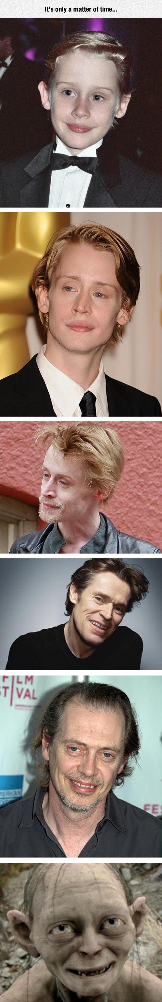Macaulay Culkin Evolution