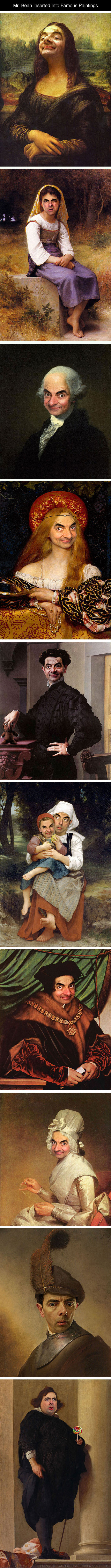 cool-Mr-Bean-famous-paintings