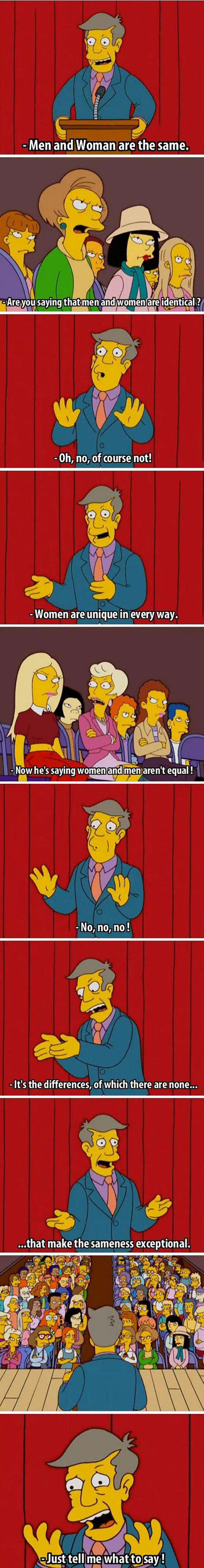 Arguing About Gender Equality Nowadays