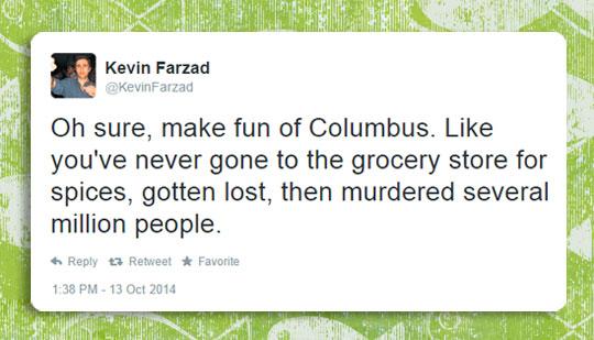 Making Fun Of Columbus