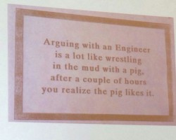 Never Argue With An Engineer