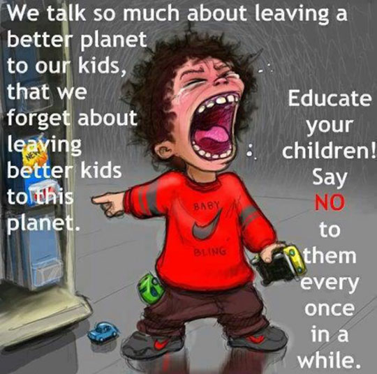 Leaving A Better Planet To Our Kids
