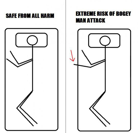When Sleeping At Night