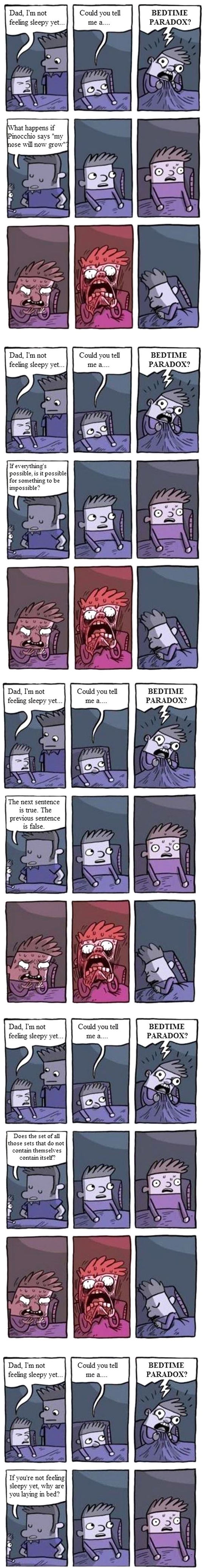 Tell Me A Bedtime Paradox