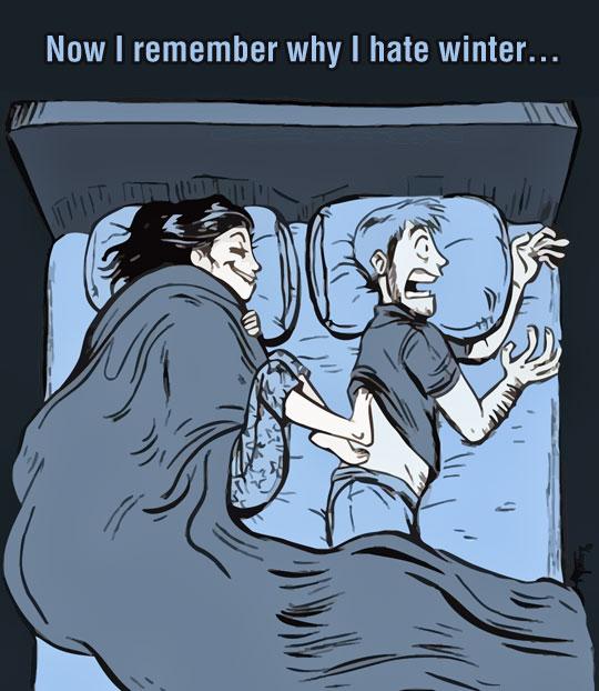 Why I Dislike Winter Sometimes