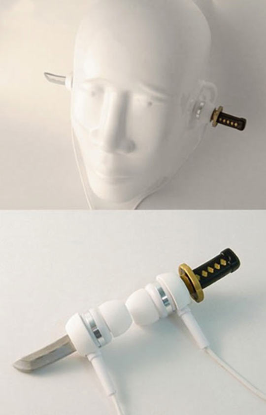 Samurai Earphones