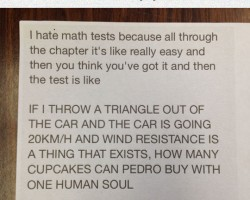Frustrating Math