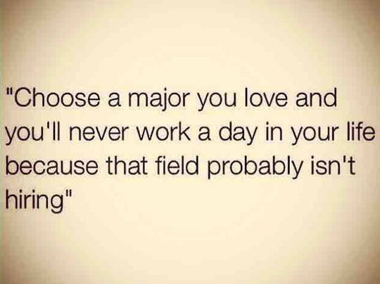 A Major You Love