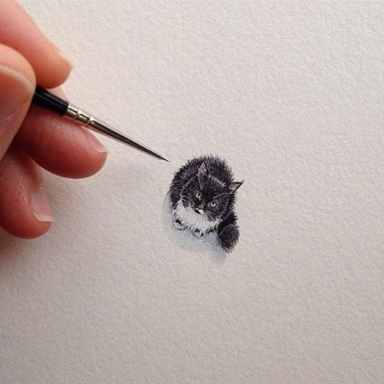Teeny-Tiny Kitty Sketch